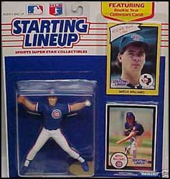 1990 Baseball Mitch Williams Starting Lineup Picture
