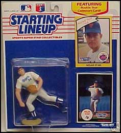 1990 Baseball Nolan Ryan Starting Lineup Picture