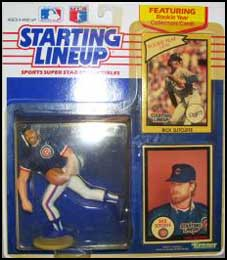1990 Baseball Rick Sutcliffe Starting Lineup Picture