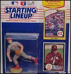 1990 Baseball Rob Dibble Starting Lineup Picture