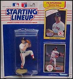1990 Baseball Roger Clemens Starting Lineup Picture