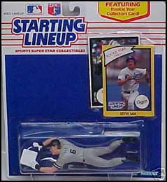 1990 Baseball Steve Sax Starting Lineup Picture