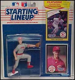 1990 Baseball Todd Benzinger Starting Lineup Picture