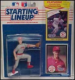 1990 Baseball Todd Benzinger Starting Lineup Picture