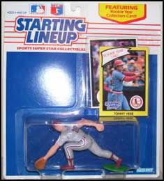 1990 Baseball Tom Herr Starting Lineup Picture