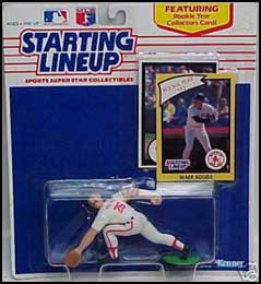 1990 Baseball Wade Boggs Starting Lineup Picture