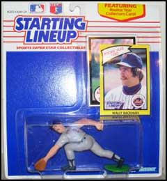1990 Baseball Wally Backman Starting Lineup Picture