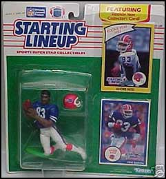 1990 Football Andre Reed Starting Lineup Picture