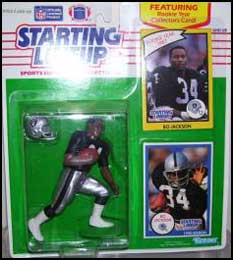 1990 Football Bo Jackson Starting Lineup Picture