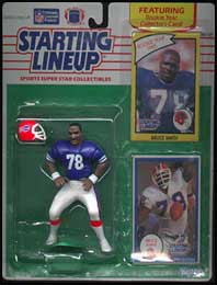 1990 Football Bruce Smith Starting Lineup Picture