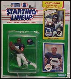 1990 Football Dennis Gentry Starting Lineup Picture