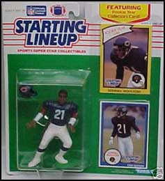 1990 Football Donnell Woolford Starting Lineup Picture