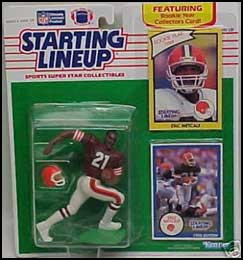 1990 Football Eric Metcalf Starting Lineup Picture