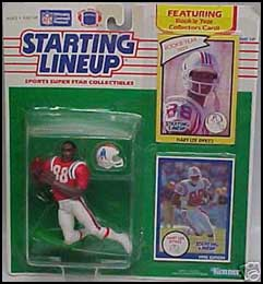 1990 Football Hart Lee Dykes Starting Lineup Picture