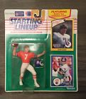 1990 Football John Elway (White Jersey) Starting Lineup Picture