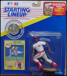 1991 Baseball Barry Larkin Starting Lineup Picture