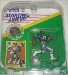1991 Football Emmitt Smith Starting Lineup Picture