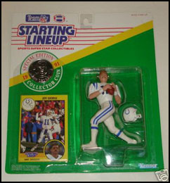 1991 Football Jeff George Starting Lineup Picture