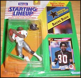 1992 Football Andre Rison Starting Lineup Picture