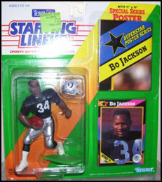 1992 Football Bo Jackson Starting Lineup Picture