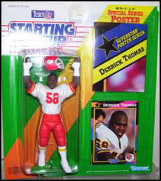 1992 Football Derrick Thomas Starting Lineup Picture