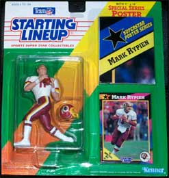 1992 Football Mark Rypien Starting Lineup Picture