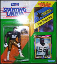1992 Football Pat Swilling Starting Lineup Picture