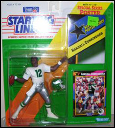 1992 Football Randall Cunningham Starting Lineup Picture