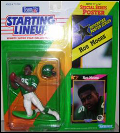 1992 Football Rob Moore Starting Lineup Picture
