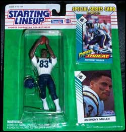 1993 Football Anthony Miller Starting Lineup Picture