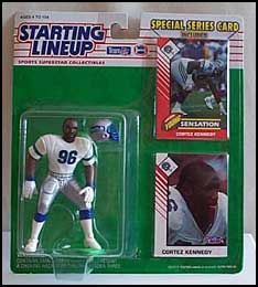 1993 Football Cortez Kennedy Starting Lineup Picture