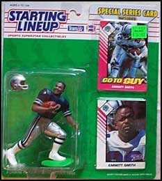 1993 Football Emmitt Smith Starting Lineup Picture