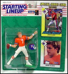 1993 Football John Elway Starting Lineup Picture