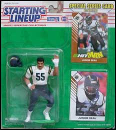 1993 Football Junior Seau Starting Lineup Picture