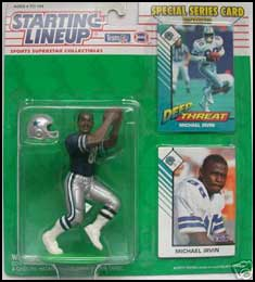 1993 Football Michael Irvin Starting Lineup Picture