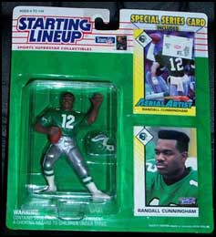 1993 Football Randall Cunningham Starting Lineup Picture