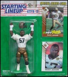 1993 Football Rickey Jackson Starting Lineup Picture