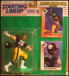 1993 Football Rod Woodson Starting Lineup Picture