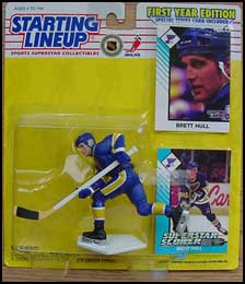 1993 Hockey Brett Hull Starting Lineup Picture