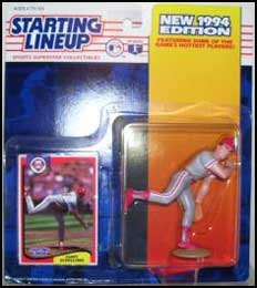 1994 Baseball Curt Schilling Starting Lineup Picture