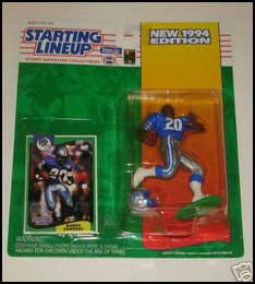 1994 Football Barry Sanders Starting Lineup Picture