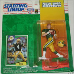 1994 Football Brett Favre Starting Lineup Picture