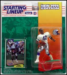 1994 Football Chris Warren Starting Lineup Picture