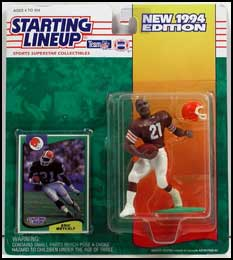 1994 Football Eric Metcalf Starting Lineup Picture