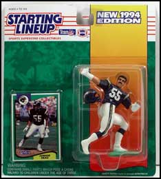 1994 Football Junior Seau Starting Lineup Picture