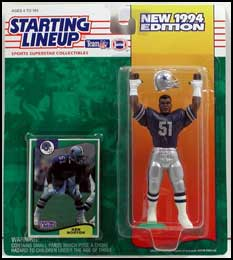 1994 Football Ken Norton Starting Lineup Picture