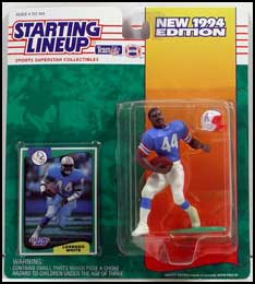 1994 Football Lorenzo White Starting Lineup Picture