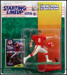 1994 Football Nick Lowery Starting Lineup Picture