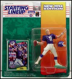 1994 Football Phil Simms Starting Lineup Picture