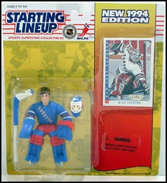 1994 Hockey Mike Richter Starting Lineup Picture